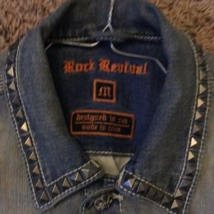 Rock Revival Jackets & Coats - Rock revival jean jacket